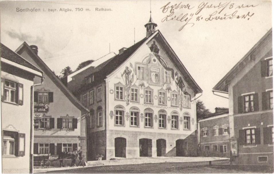 876_Sonthofen Rathaus 1910paint.jpg