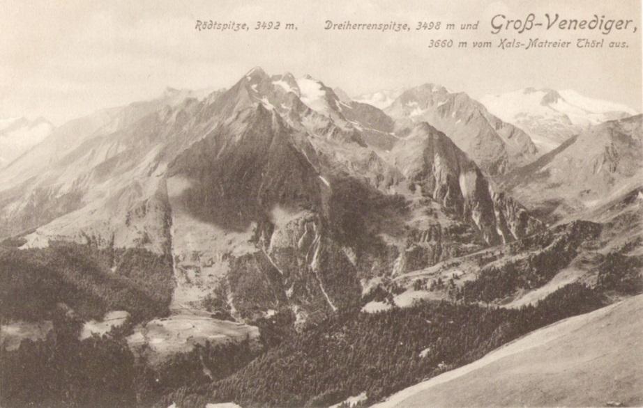 891_Grossvenediger Dreiherrenspitze Roetspitze 1914paint.jpg
