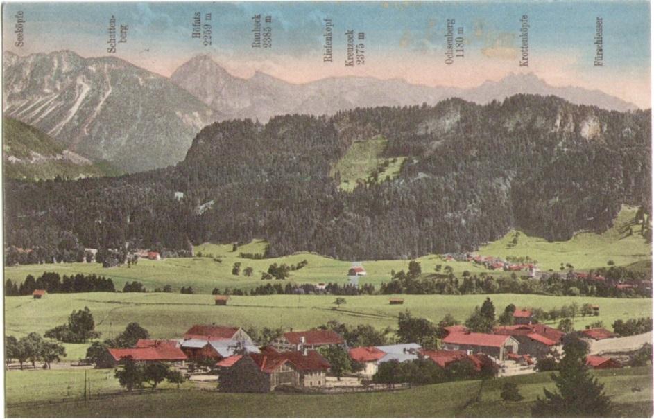 930_Sonderdorf bei Fischen um 1920paint.jpg