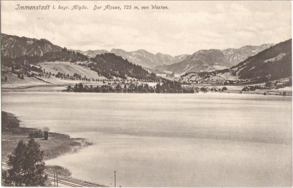 931_Alpsee von Westen um 1910paint.jpg