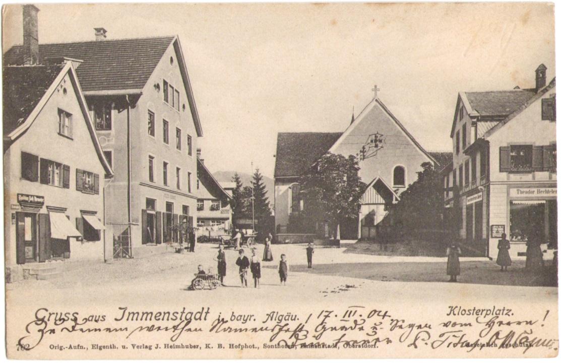 948_Immenstadt Klosterplatz um 1900p.jpg