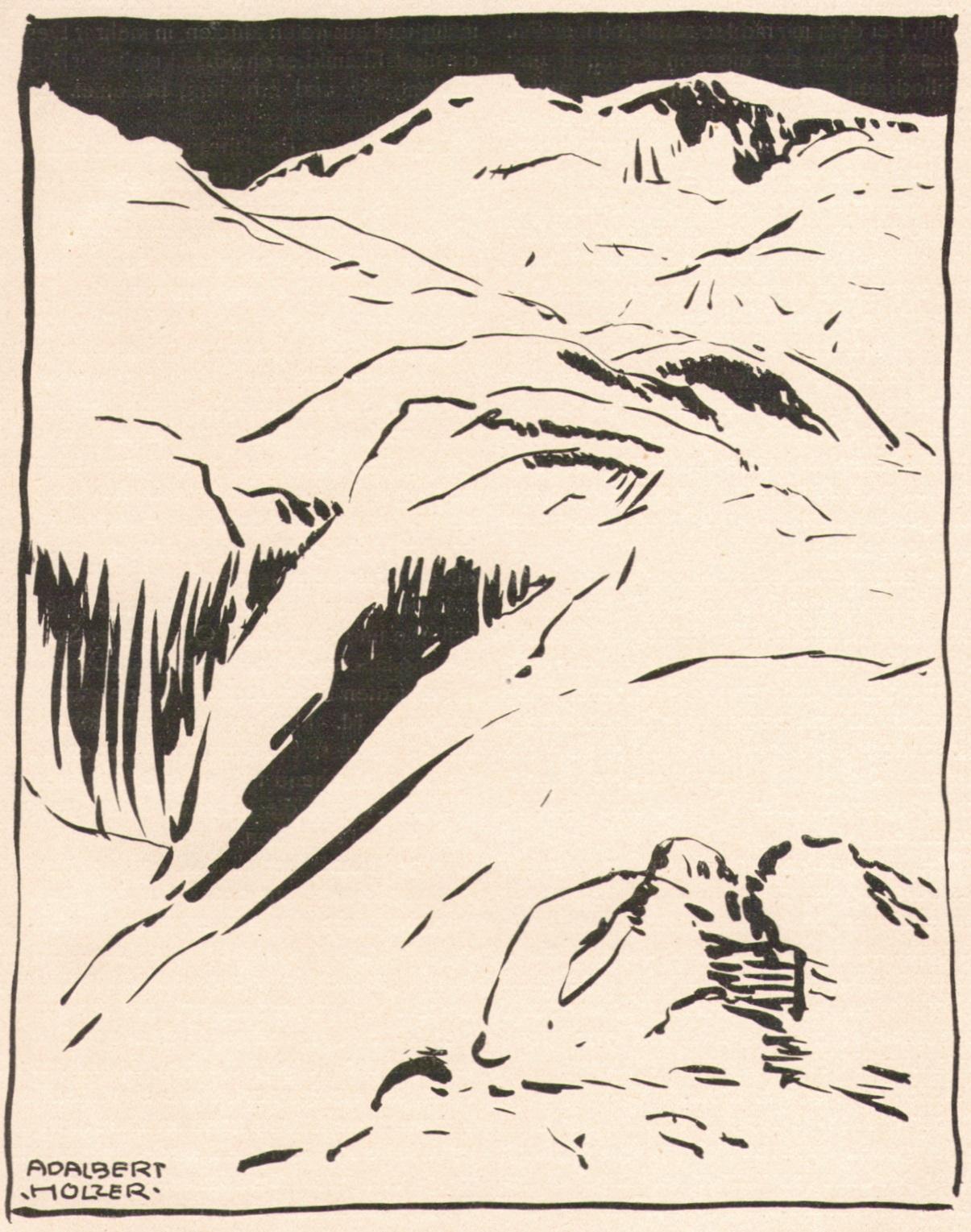 Adalbert Holzer - Der Gletscher um 1920p.jpg