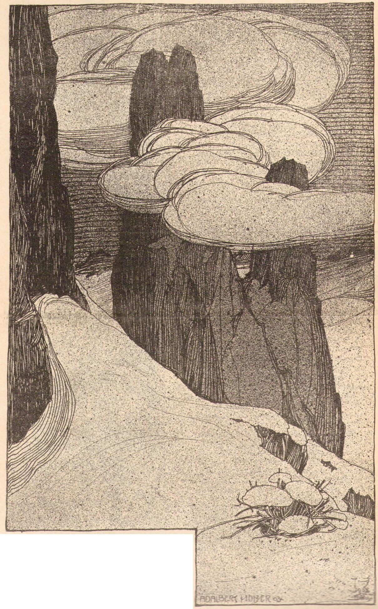 Adalbert Holzer - Dolomitentuerme 1903p.jpg