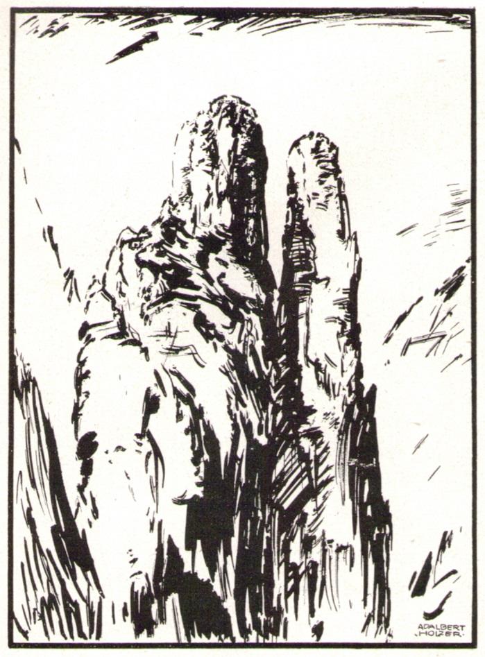 Adalbert Holzer - In den Dolomiten um 1920_2p.jpg