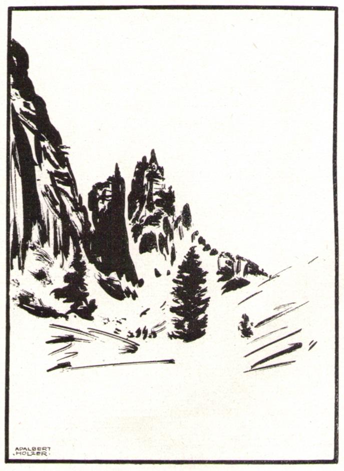 Adalbert Holzer - In den Dolomiten um 1920_3p.jpg