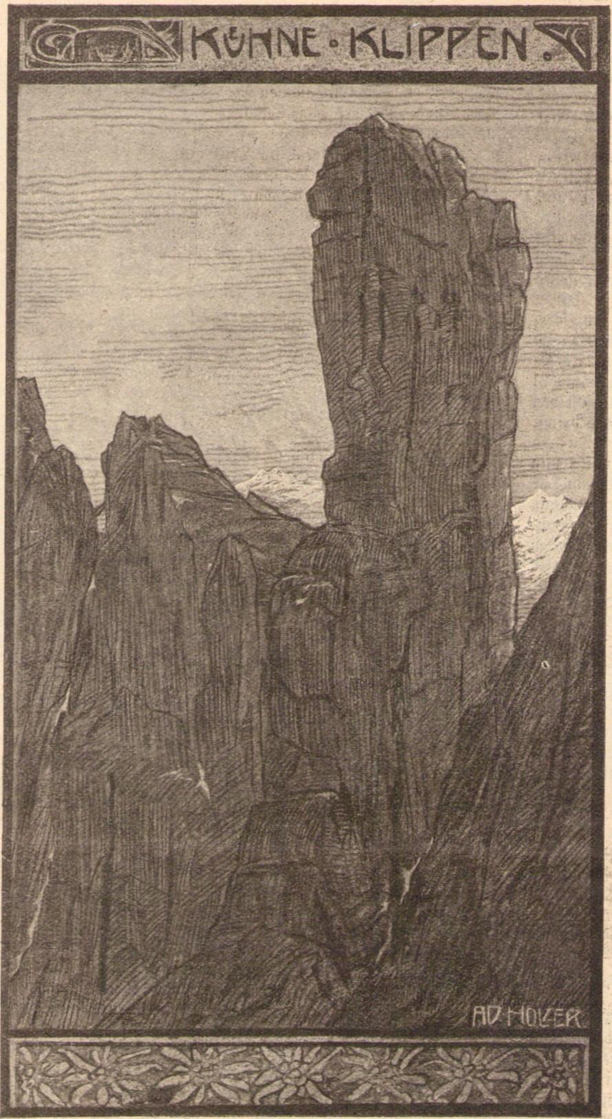 Adalbert Holzer - Kuehne Klippen 1904p.jpg