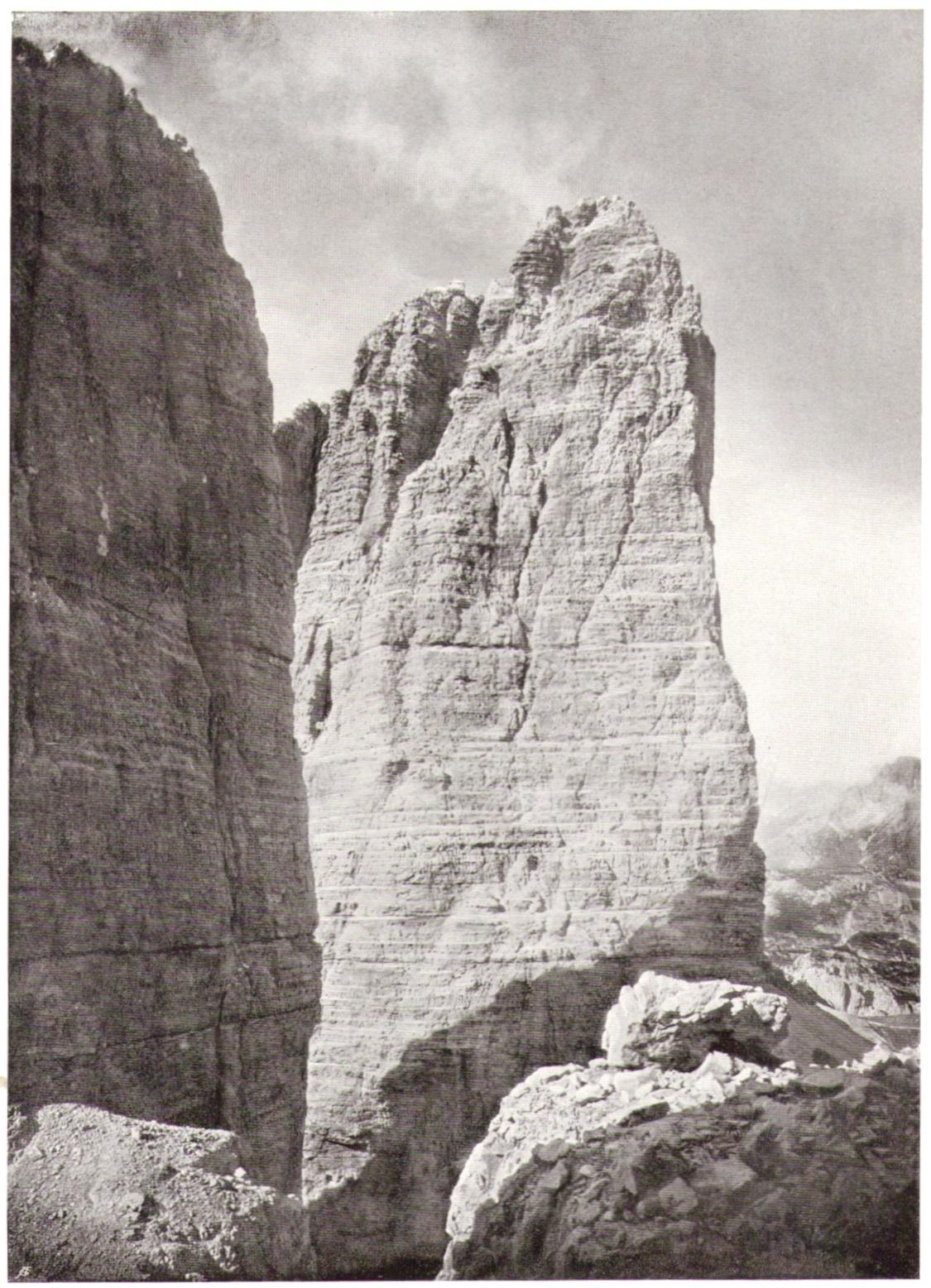 Adolf Witzenmann04 Grosse Zinne von der Punta di Fridap.jpg