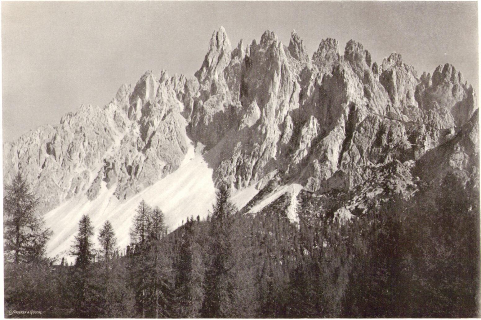 Adolf Witzenmann12 Die Gruppe der Cadini della Nevep.jpg