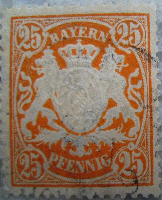 Briefmarke 25 Pfennig Hellbraunpaint.jpg
