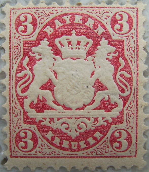 Briefmarke 3 Kreuzer Rotp.jpg