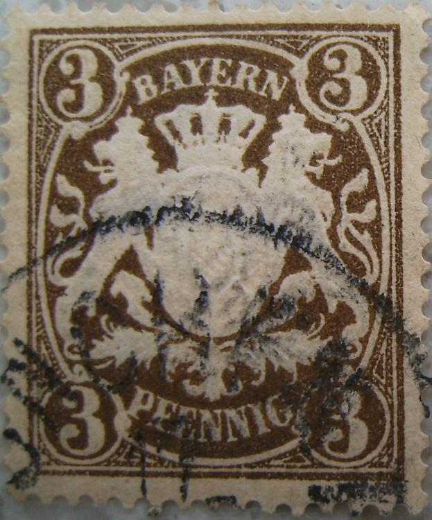Briefmarke 3 Pfennig Braunpaint.jpg