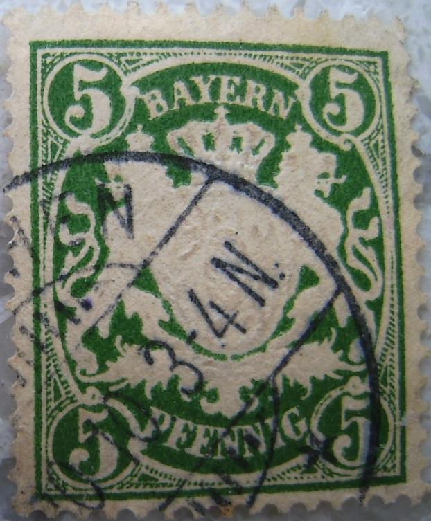Briefmarke 5 Pfennig Gruenpaint.jpg