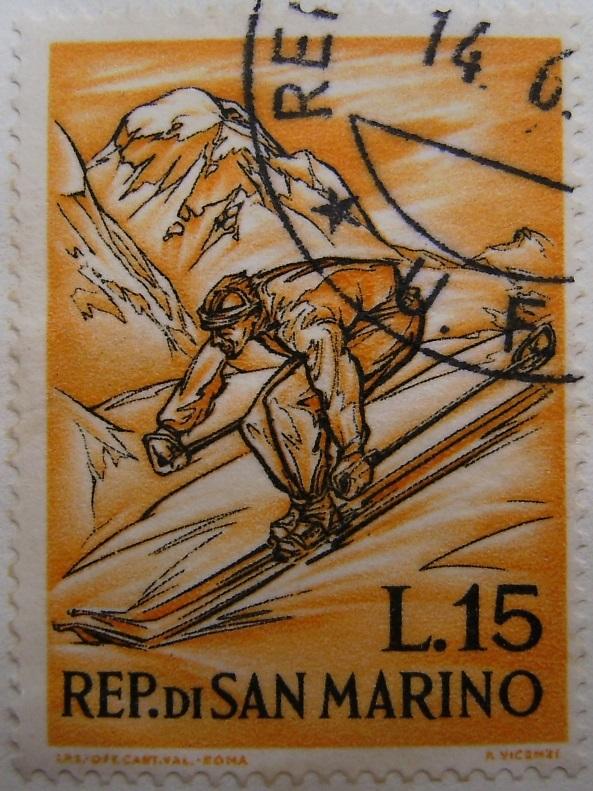 Briefmarkenserie La montagna 14_06_1962 San Marino06paint.jpg