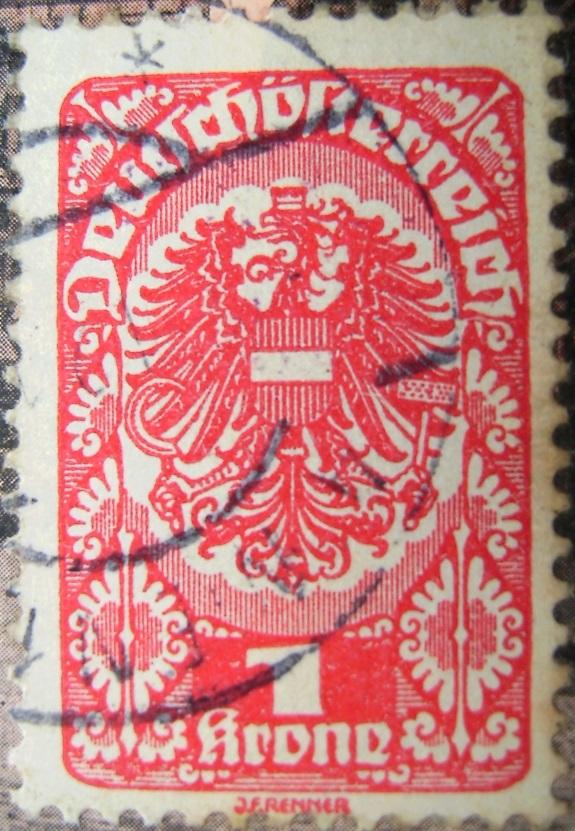Deutschoesterreich 1 Krone rot 01_07_1921paint.jpg