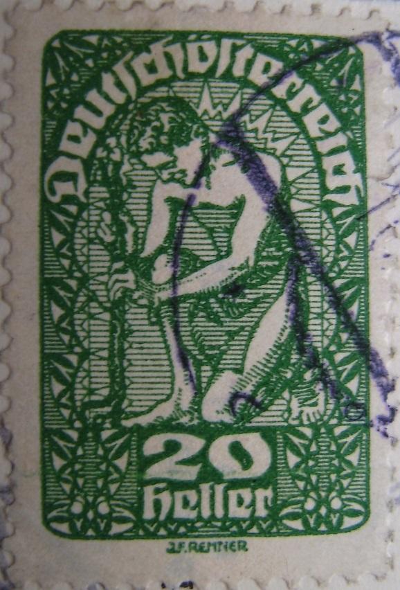 Deutschoesterreich 20 Heller gruen 10_05_1920paint.jpg