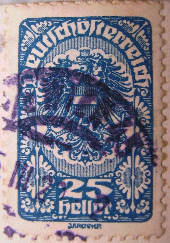 Deutschoesterreich 25 Heller dunkelblau 05_03_1920paint.jpg