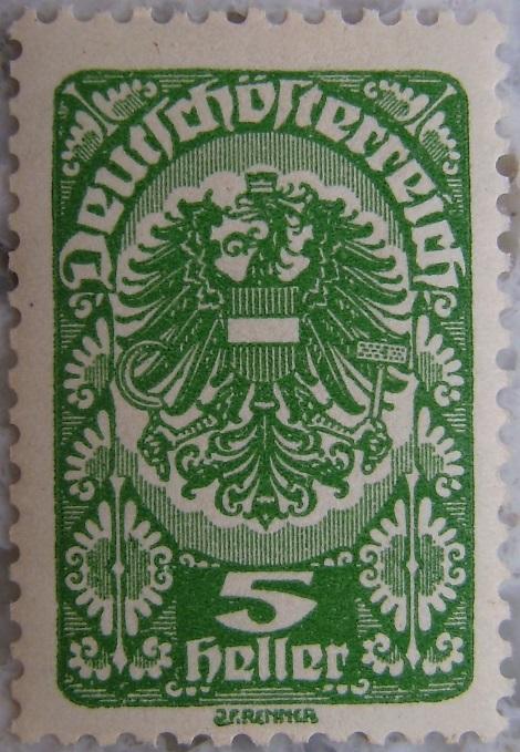 Deutschoesterreich Freimarken 1919_03 - 5 Heller gruenp.jpg