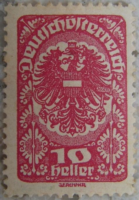 Deutschoesterreich Freimarken 1919_05 - 10 Heller weinrotp.jpg