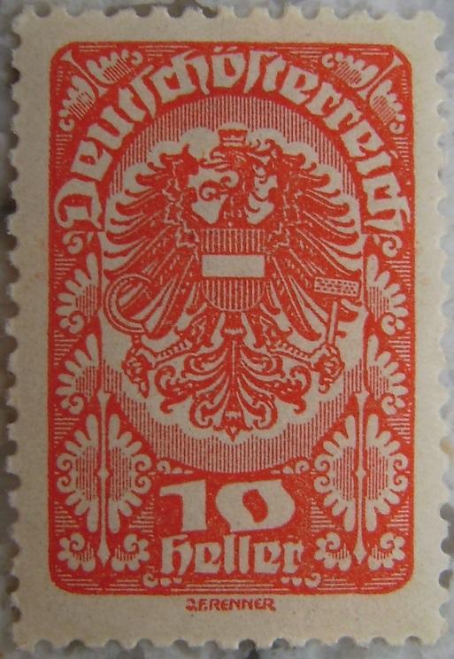 Deutschoesterreich Freimarken 1919_06 - 10 Heller hellrotp.jpg