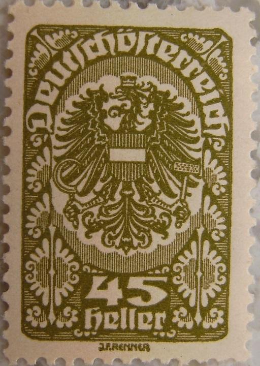 Deutschoesterreich Freimarken 1919_16 - 45 Hellerp.jpg