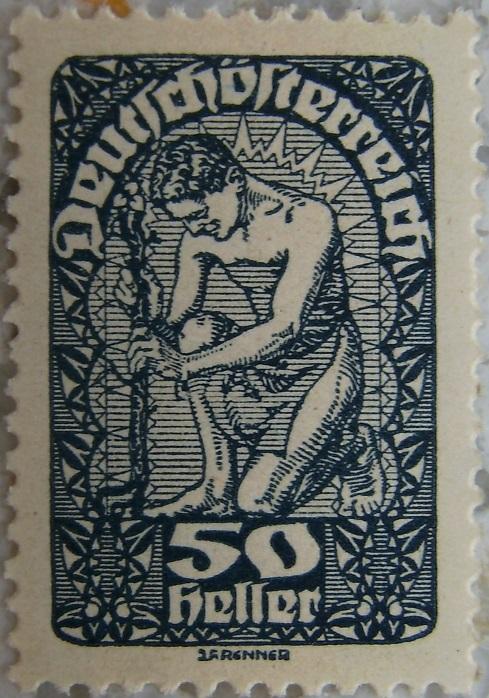 Deutschoesterreich Freimarken 1919_17 - 50 Hellerp.jpg