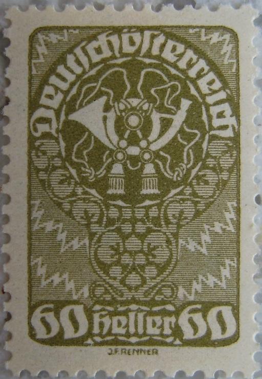 Deutschoesterreich Freimarken 1919_18 - 60 Hellerp.jpg