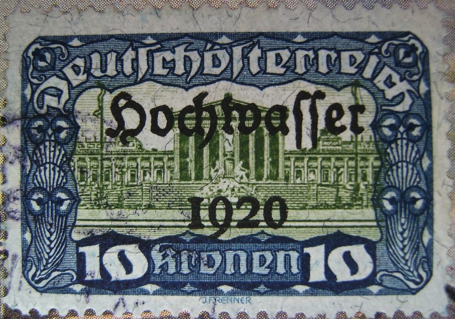 Deutschoesterreich Hochwasser 10 Kronen blau-gruen 01_03_1921paint.jpg