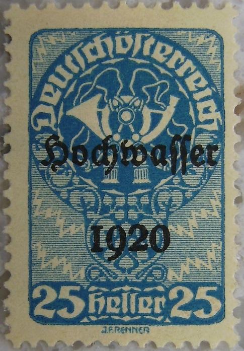 Deutschoesterreich Hochwasser 1920_05 - 25 Hellerp.jpg