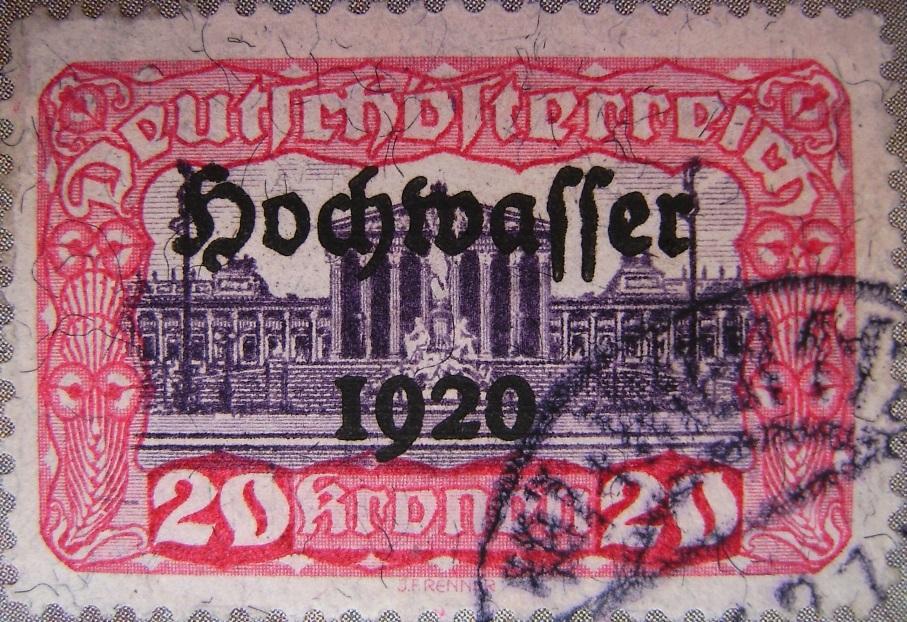 Deutschoesterreich Hochwasser 20 Kronen rot-lila 01_03_1921paint.jpg