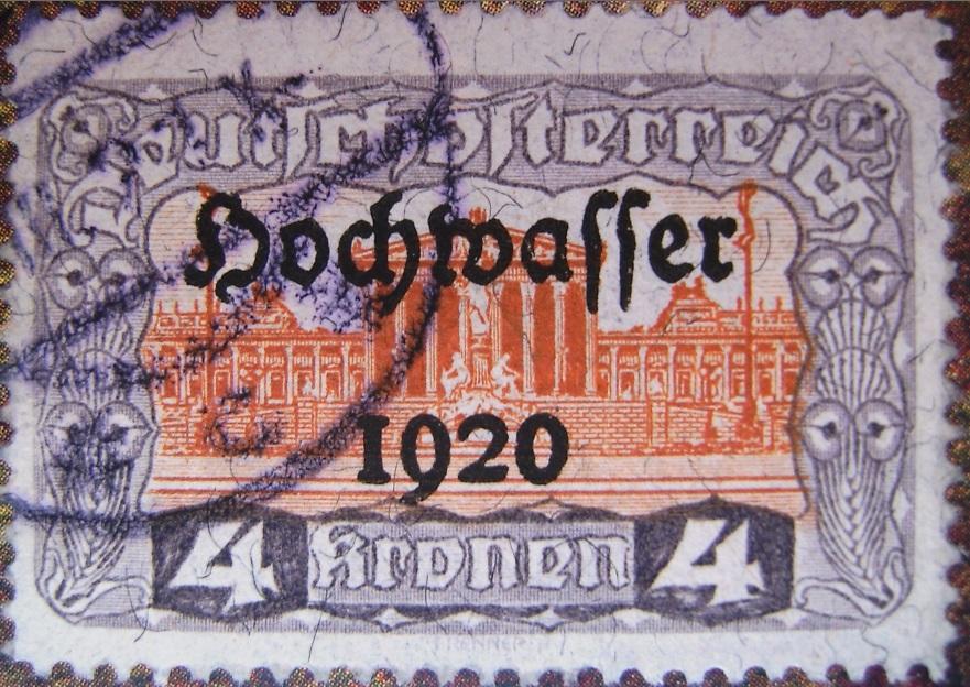 Deutschoesterreich Hochwasser 4 Kronen violett-orange 01_03_1921paint.jpg