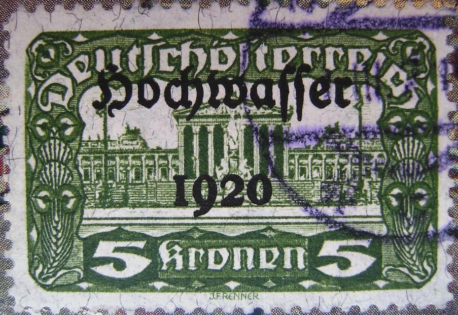 Deutschoesterreich Hochwasser 5 Kronen gruen 01_03_1921paint.jpg