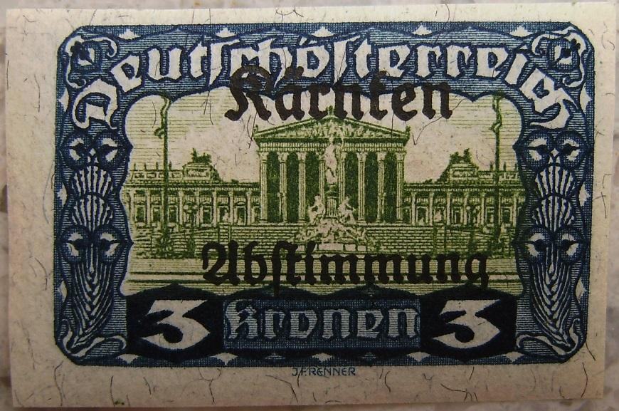Deutschoesterreich Kaernten Abstimmung14 3 Kronenp.jpg