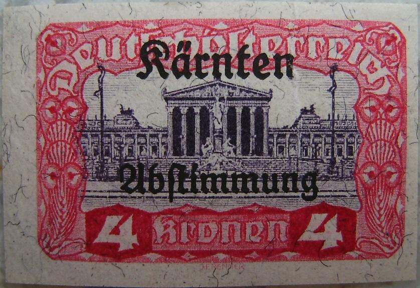 Deutschoesterreich Kaernten Abstimmung15 4 Kronenp.jpg