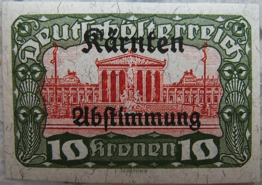 Deutschoesterreich Kaernten Abstimmung18 10 Kronenp.jpg