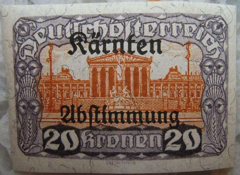 Deutschoesterreich Kaernten Abstimmung19 20 Kronenp.jpg