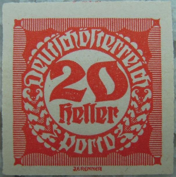 Deutschoesterreich Portomarke ungezaehnt4 - 20 Hellerp.jpg