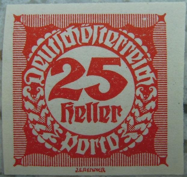 Deutschoesterreich Portomarke ungezaehnt5 - 25 Hellerp.jpg