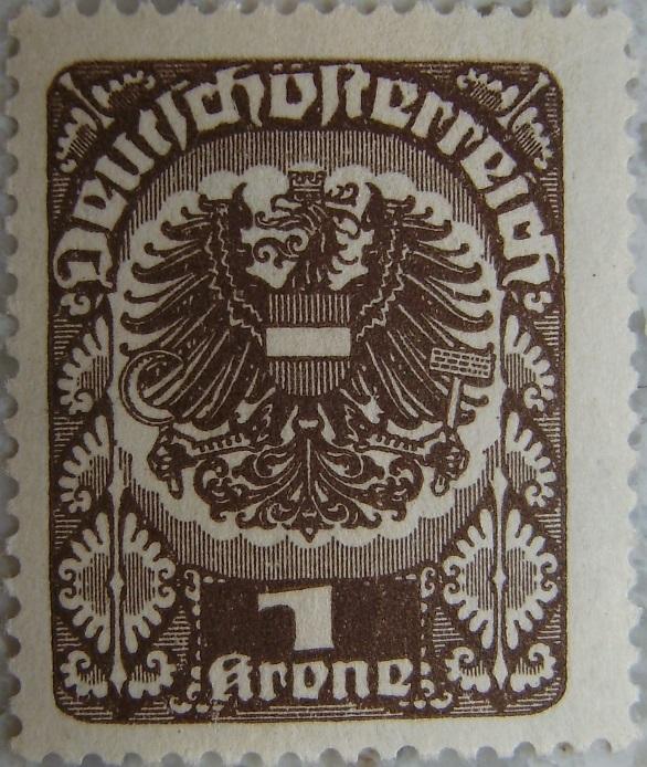 Deutschoesterreich postfrisch02 1 Kronep.jpg