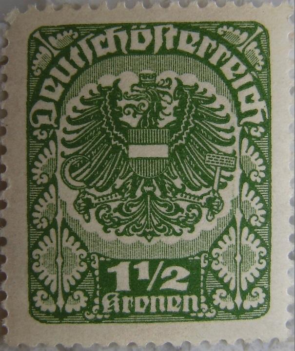 Deutschoesterreich postfrisch03 1_5 Kronenp.jpg