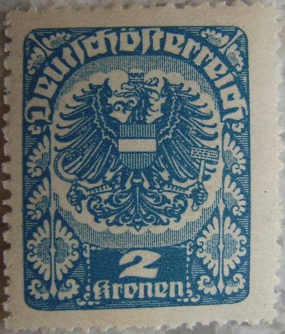 Deutschoesterreich postfrisch04 2 Kronenp.jpg