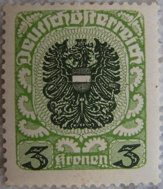 Deutschoesterreich postfrisch05 3 Kronenp.jpg