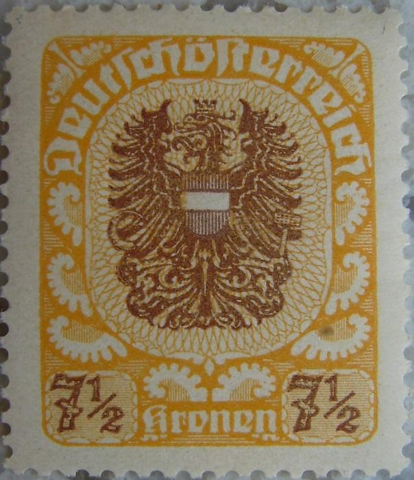 Deutschoesterreich postfrisch08 7_5 Kronenp.jpg
