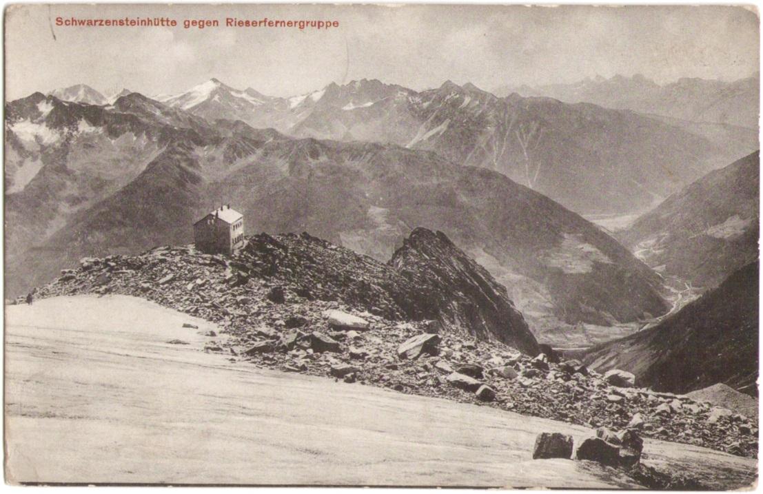 Durreckgruppe um 1910 von Schwarzensteinhuette ausp.jpg