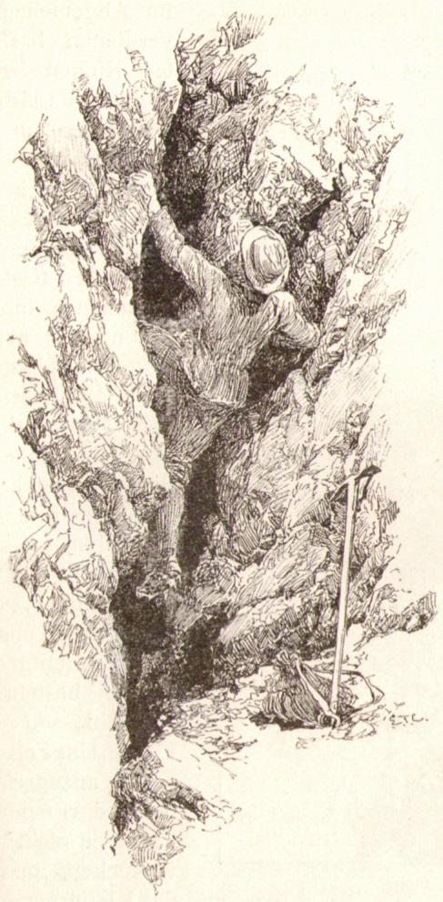 Edward Theodore Compton05 Einstieg in einen Felskaminp.jpg