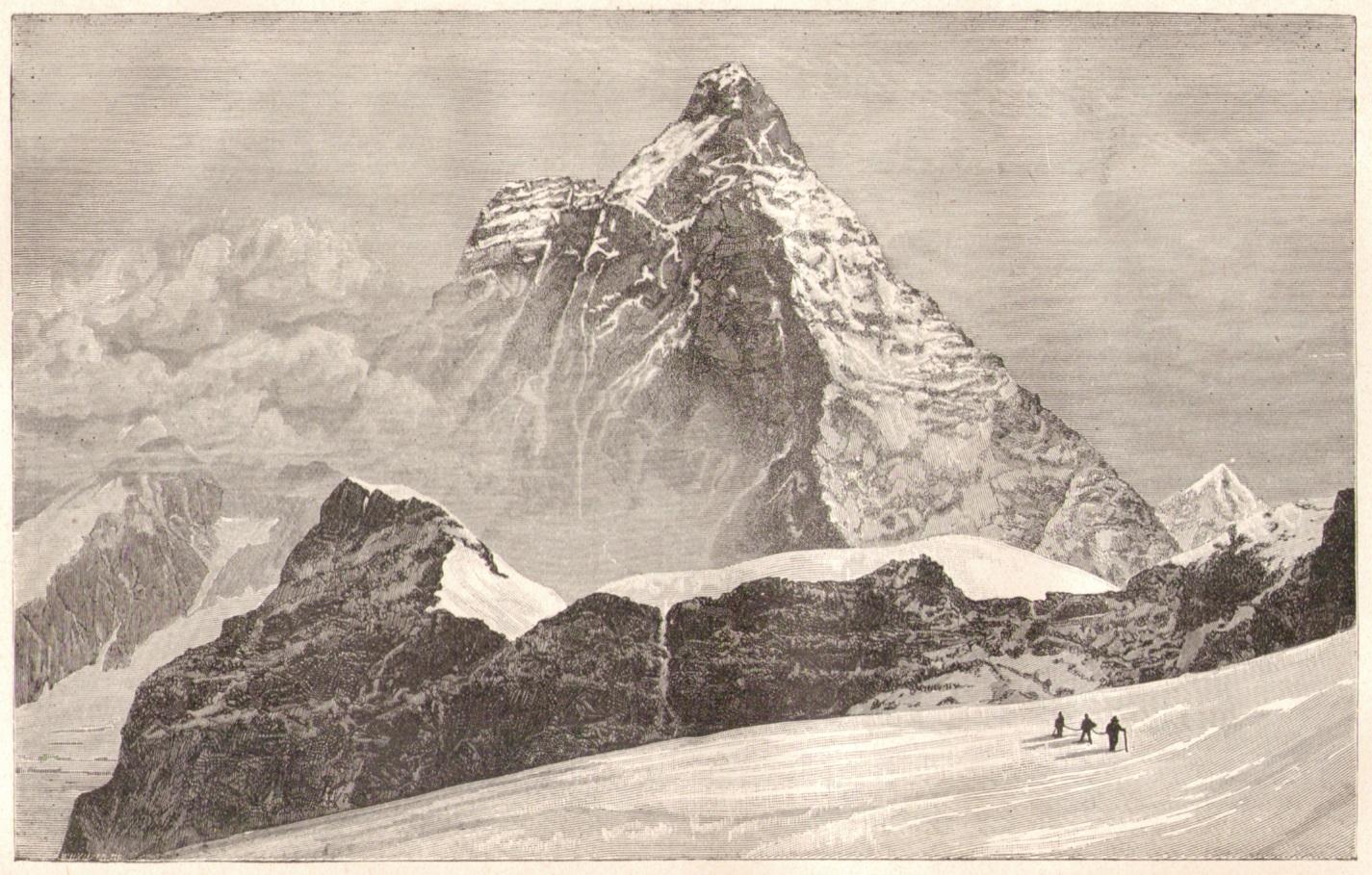 Edward Whymper01  Matterhorn vom Theodulepassp.jpg