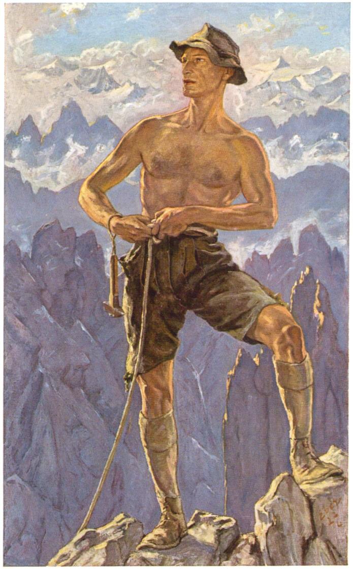 Elk Eber - Der Kletterer 1927paint.jpg
