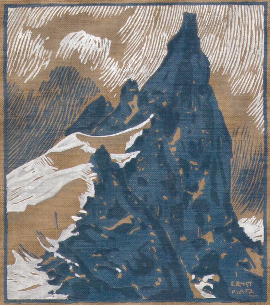 Ernst Platz - Die Schule der Berge 1925 Einbandp.jpg