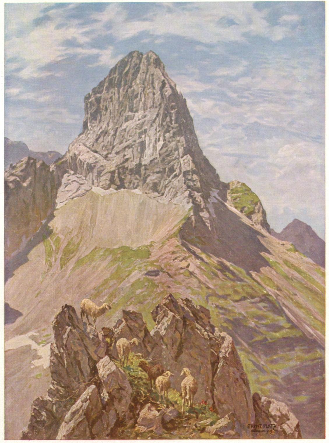 Ernst Platz - Foehnmorgen an der Lamsenspitze 1919p.jpg