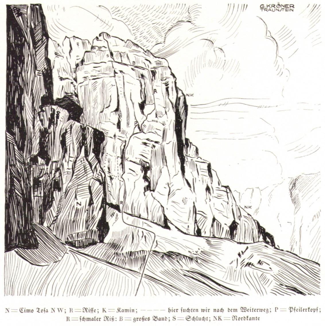 Gustav Kroener - Crozzon di Brenta Nordostwand03p.jpg