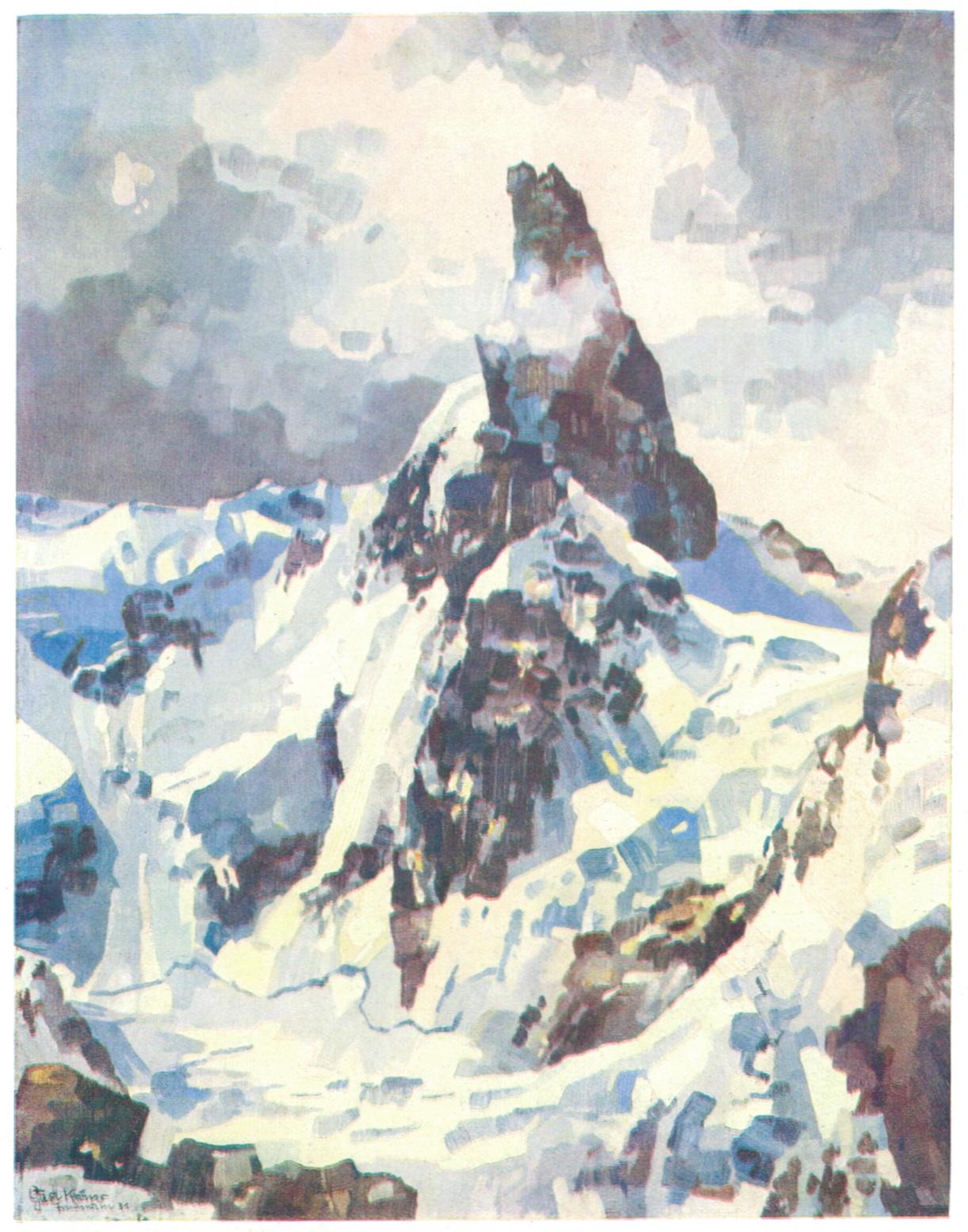 Gustav Kroener - Dent du Geant 1931p.jpg